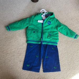 Little me 3 piece matching whale set, new with tag